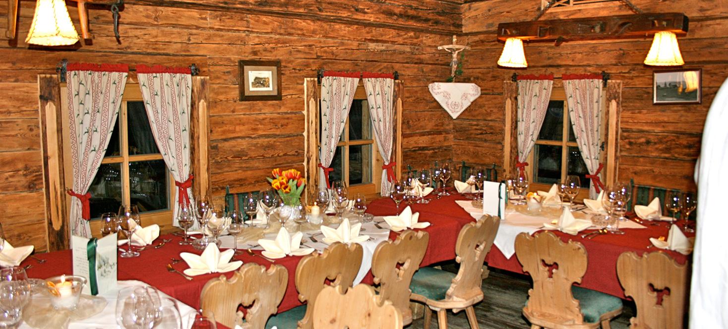 Die Hintermaisalm | Skihuette und Restaurant | Hochzeiten