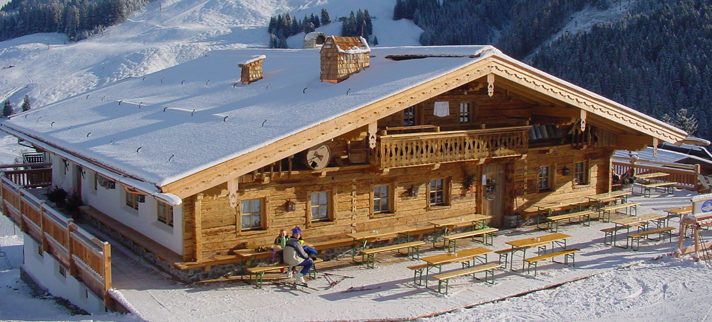 Die Hintermaisalm | Hinterglemm | Skihuette und Restaurant
